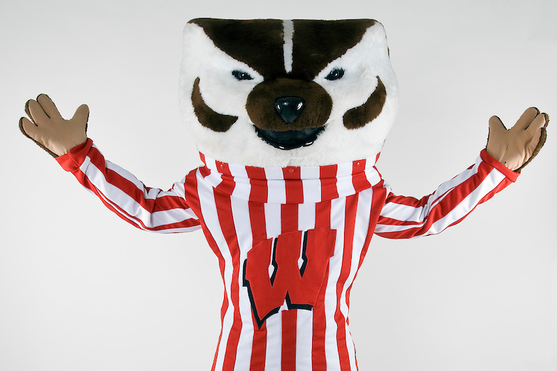 Image of Bucky with Arms Wide